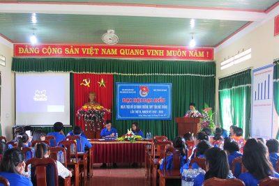 Đại hội đại biểu Đoàn TNCS Hồ Chí Minh trường THPT Tôn Đức Thắng nhiệm kỳ 2017-2018