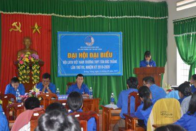 Đoàn trường- Hội LHTN trường THPT Tôn Đức Thắng tổ chức Đại hội nhiệm kỳ 2019-2020
