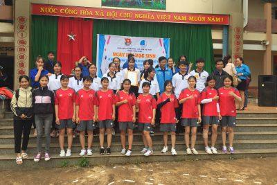 Tham gia ngày Hội học sinh sinh viên năm 2019 do Huyện đoàn Krông Năng tổ chức