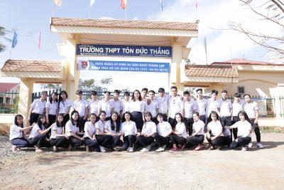 Video Trường THPT Tôn Đức Thắng 5 năm nhìn lại một chặng đường phát triển